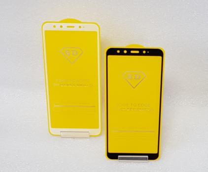 Защитное стекло 5d, для Xiaomi Mi A2, Mi 6X, черное