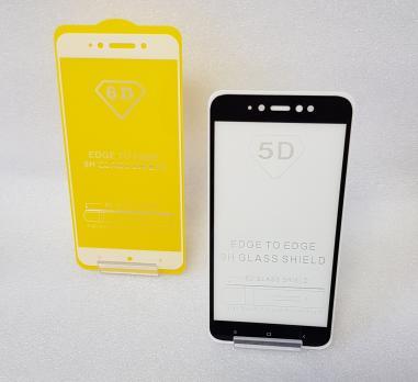 Защитное стекло 5d, для Xiaomi Redmi Note 5A, mdg6, черное