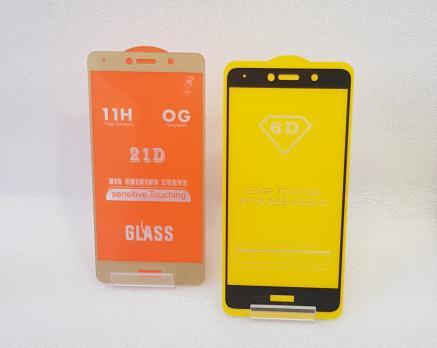 Защитное стекло 5d 9h для Huawei Y7 2017, TRT-LX1, черное