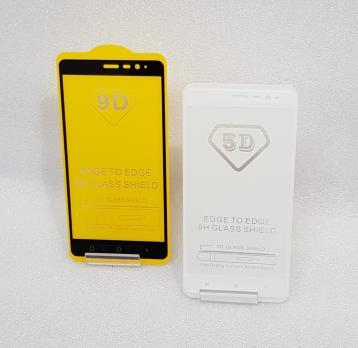Защитное стекло 5d, для Xiaomi Redmi Note 3, Redmi Note 3 Pro, белое
