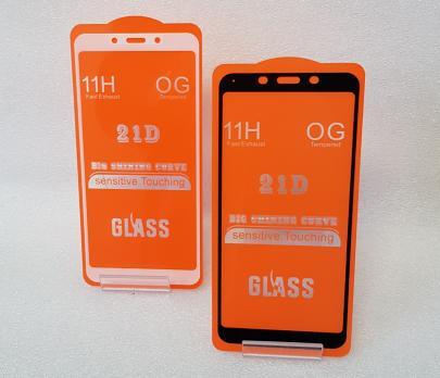 Защитное стекло 5d, для Xiaomi Redmi 6, Redmi 6A, m1804c3dg, черное