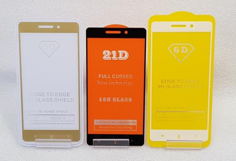 Защитное стекло 5d, для Xiaomi Redmi 3, Redmi 3 Pro, Redmi 3s, Redmi 3x, черное