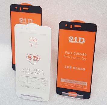 Защитное стекло 5d 9h для Huawei Honor 9, STF-L09, черное