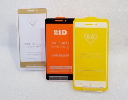 Защитное стекло 5d, для Xiaomi Redmi 3, Redmi 3 Pro, Redmi 3s, Redmi 3x, белое