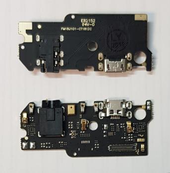 Нижняя плата с разъемом зарядки и микрофоном Meizu M6S, m712h