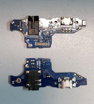 Нижняя плата с разъемом зарядки и микрофоном Huawei Honor 8x Max