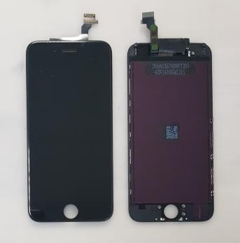 Дисплей с сенсором iPhone 6, черный, переклеенная матрица