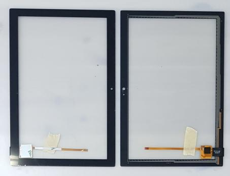 Сенсорное стекло (тачскрин) Lenovo Tab 4 TB-X304L, черное