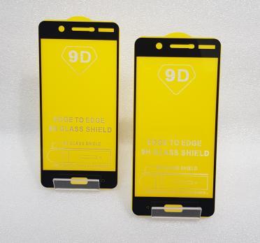 Защитное стекло 5d 9h для Nokia 5, TA 1053, черное