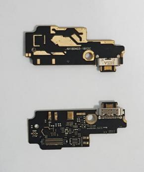 Нижняя плата с разъемом зарядки и микрофоном Xiaomi Mi Mix 2, Mi Mix 2S