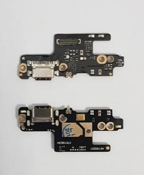 Нижняя плата с разъемом зарядки и микрофоном Xiaomi Redmi Note 7, m1901f7g