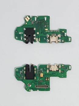 Нижняя плата с разъемом зарядки и микрофоном Huawei P-Smart 2019, POT-LX1