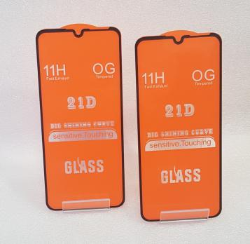 Защитное стекло 5d 9h для Huawei Y6 2019, MRD-LX1F, Honor 8A, JAT-LX1, черное