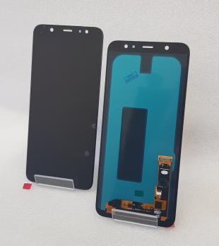 Дисплей с сенсором Samsung Galaxy A6 Plus 2018, SM A605f, черный, Oled