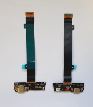 Шлейф (плата) с разъемом зарядки и микрофоном LeEco, Le 2, Le 2 Pro, X620, X626