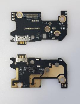 Нижняя плата с разъемом зарядки и микрофоном Xiaomi Mi 8, m1803E1A