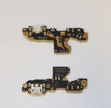 Нижняя плата с разъемом зарядки и микрофоном Xiaomi Redmi 7, m1810f6lg