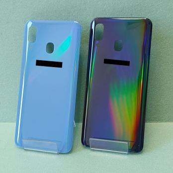 Задняя крышка Samsung Galaxy A40 2019, SM A405FN, синяя