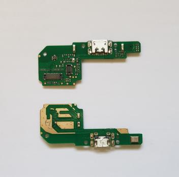 Нижняя плата с разъемом зарядки и микрофоном Xiaomi Redmi 6, Redmi 6A, m1804c3dg