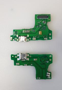 Нижняя плата с разъемом зарядки и микрофоном Huawei Y6 2019, MRD-LX1F, Honor 8A, JAT-LX1