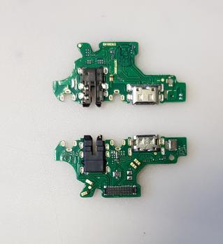 Нижняя плата с разъемом зарядки и микрофоном Huawei P30 Lite, MAR-LX1M, Honor 20S, MAR-LX1h