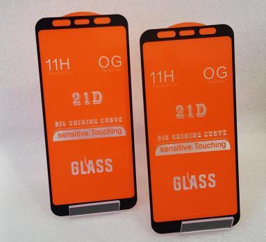 Защитное стекло 5d 9h для Samsung Galaxy A6 Plus 2018, SM A605f, J8 2018, SM J810, черное