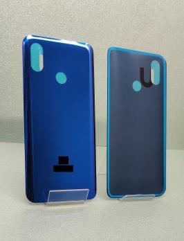 Задняя крышка (корпус) Xiaomi Mi 8, m1803E1A, синий