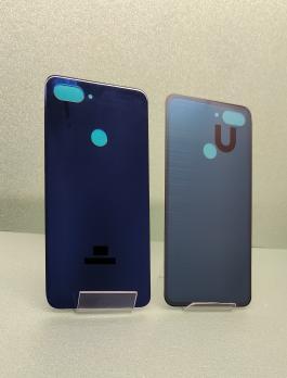 Задняя крышка (корпус) Xiaomi Mi 8 Lite, m1808d2tg, синяя