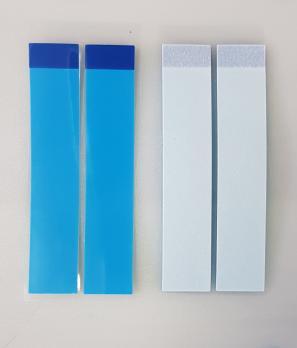 Скотч двухсторонний (стикер) для приклеивания аккумулятора Xiaomi, комплект 2 полоски