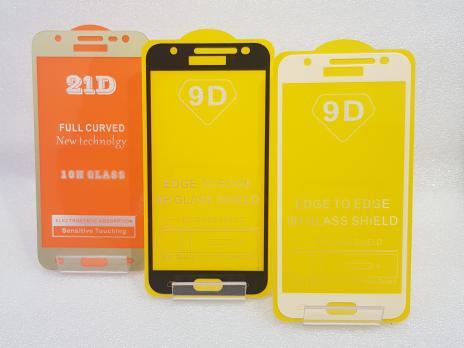 Защитное стекло 5d 9h для Samsung Galaxy J3 2016, SM J320, черное