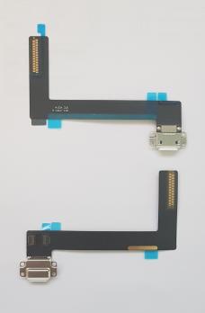 Шлейф с разъемом зарядки iPad Air 2, A1566, A1567, белый