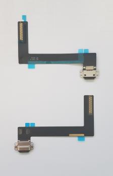 Шлейф с разъемом зарядки iPad Air 2, A1566, A1567, черный