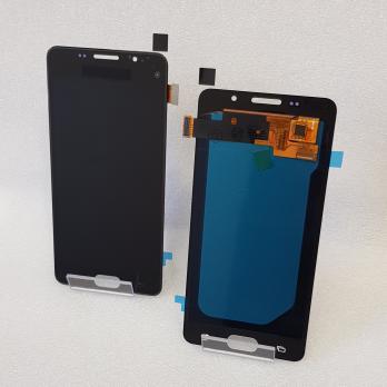 Дисплей с сенсором Samsung Galaxy A5 2016, SM A510F, черный, Oled