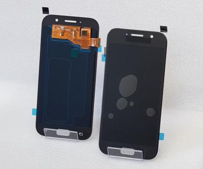 Дисплей с сенсором Samsung Galaxy A5 2017, SM A520, черный, Oled