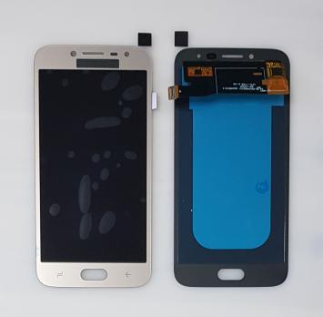 Дисплей с сенсором Samsung Galaxy J2 2018, SM J250F/H/DS, золото, Oled
