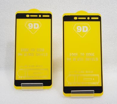 Защитное стекло 5d, 9h для Nokia 6.1, 2018, TA-1043, черное