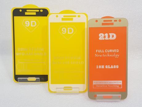 Защитное стекло 5d 9h для Samsung Galaxy J3 2016, SM J320, золото