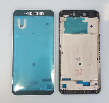 Рамка дисплея (средняя часть корпуса) Xiaomi Redmi Note 5A, mdg6, черная