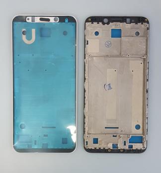 Рамка дисплея (средняя часть корпуса) Xiaomi Redmi 5 Plus, meg7, mee7, черная
