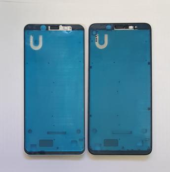 Рамка дисплея (средняя часть корпуса) Xiaomi Redmi Note 5, Redmi Note 5 Pro, черная