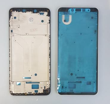 Рамка дисплея (средняя часть корпуса) Xiaomi Redmi S2, Redmi Y2, m1803e6g, черная