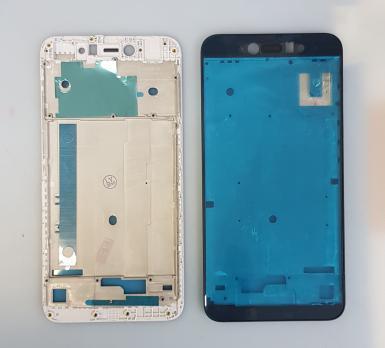 Рамка дисплея (средняя часть корпуса) Xiaomi Redmi Note 5A, mdg6, серебро