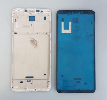 Рамка дисплея (средняя часть корпуса) Xiaomi Redmi 5, mdg1, серебро
