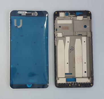 Рамка дисплея (средняя часть корпуса) Xiaomi Redmi 4A, черная