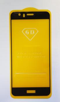 Защитное стекло 5d 9h для Huawei Honor 8, FRD-L09, черное