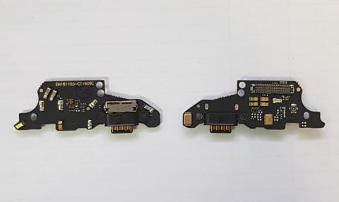 Нижняя плата с разъемом зарядки и микрофоном Huawei Mate 20, HMA-L29