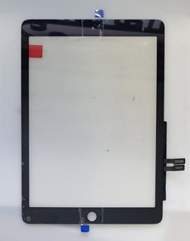 Сенсорное стекло (тачскин) iPad 6 2018, A1893, A1954, черный