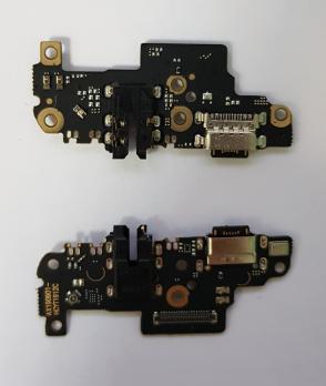 Нижняя плата с разъемом зарядки и микрофоном Xiaomi Redmi Note 8 Pro, M1906G7G, M1906G7i, M1906G7E, M1906G7T, 2015105, G7