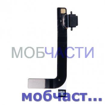 Шлейф ipad 4, a1458, a1459, a1460, с разъемом зарядки