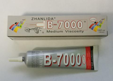 Клей-герметик B7000 (50 ml) прозрачный